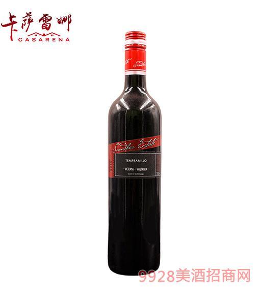 桑迪干�t葡萄酒14.5度750ml