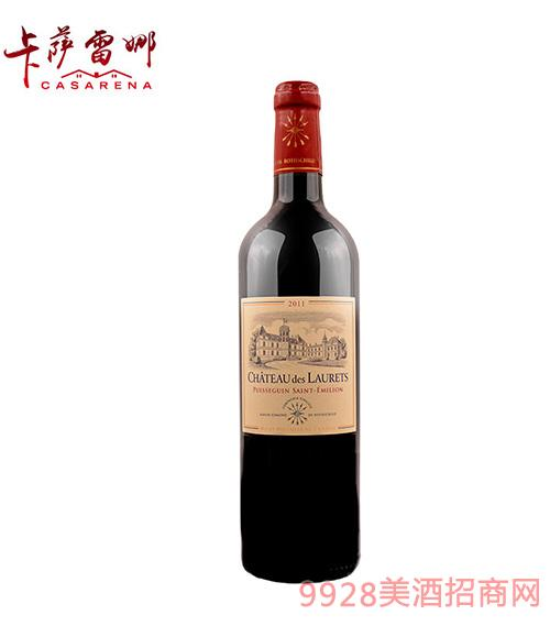 劳蕾丝古堡干红葡萄酒14度750ml