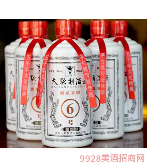 茅台镇酱香散酒6号酒53度500ml