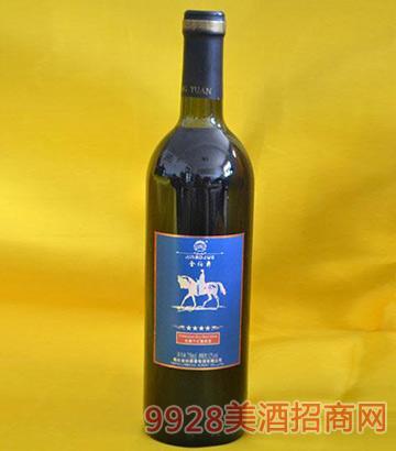 金伯爵庄园干红葡萄酒蓝标四星