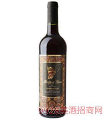 西班牙蝴蝶皇 后干红葡萄酒750ml