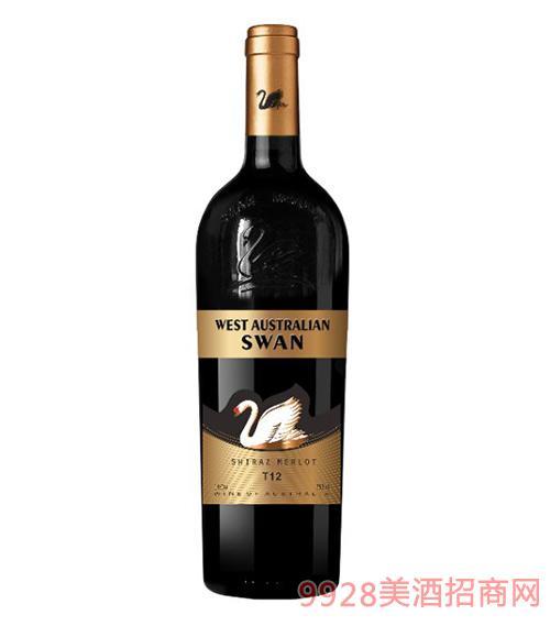 西澳天鹅干红葡萄酒T12