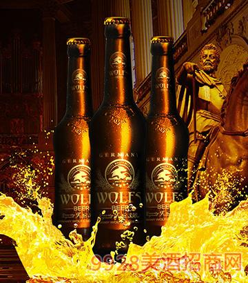 德国狼堡啤酒金典330ml瓶装