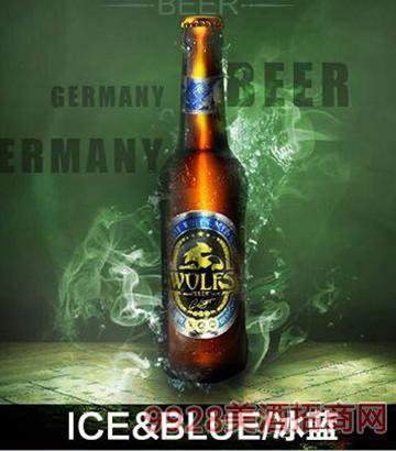 德国狼堡啤酒330ml棕瓶