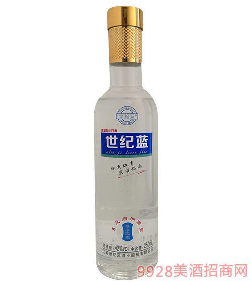 世纪蓝理想型小酒42度250ml