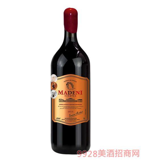 玛德尼干红葡萄酒5L