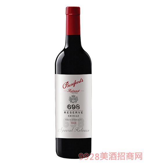 奔富海兰酒庄精选698干红葡萄酒15度750ml