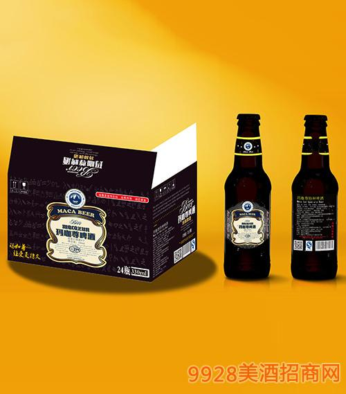 玛咖尊啤酒瓶装330mlx24