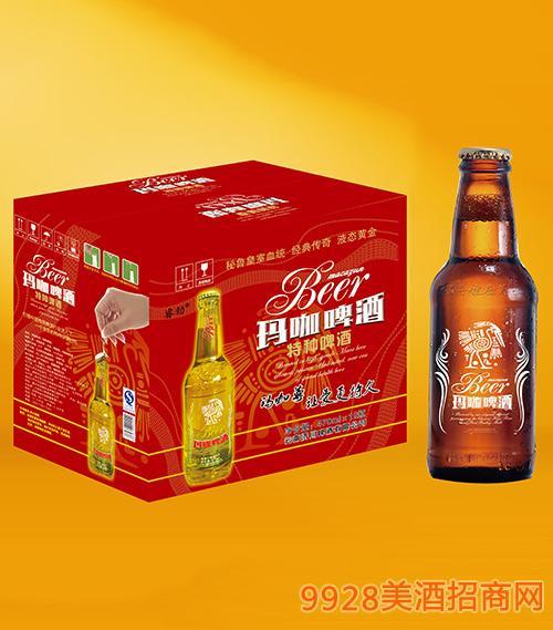睿劲玛咖啤酒瓶装470ml