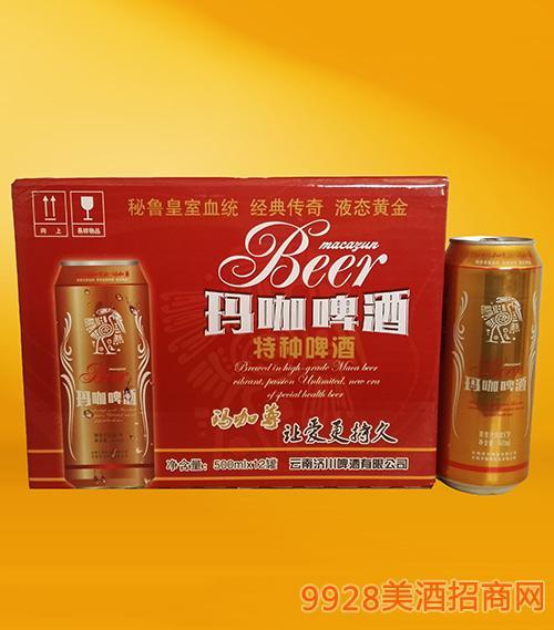 睿劲玛咖啤酒易拉罐500ml