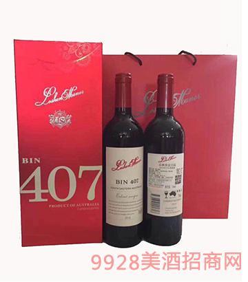 洛神奔富407葡萄酒礼盒装