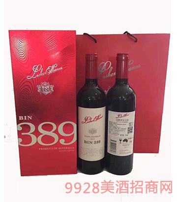 洛神奔富389葡萄酒礼盒装