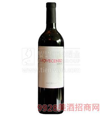 诺华森西拉干红葡萄酒750ml