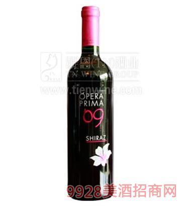 普瑞西拉红葡萄酒750ml