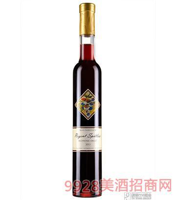 德国瑞特晚收甜红葡萄酒750ml