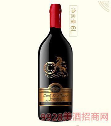法国卡瑞特帕索干红葡萄酒13.5度6L