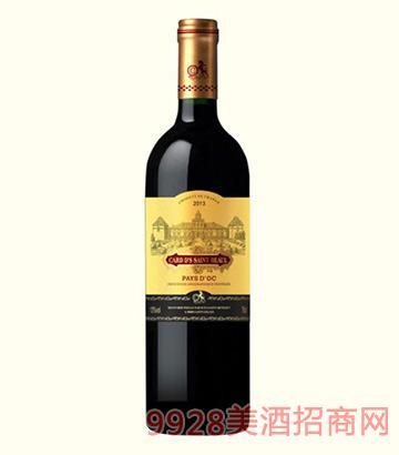法国卡瑞特圣比诺干红葡萄酒13度750ml