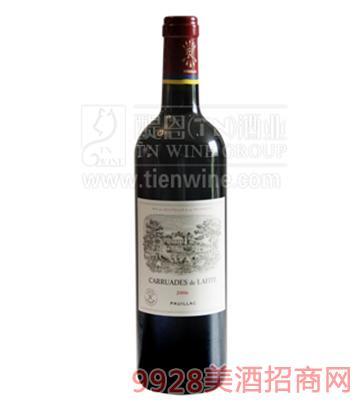 法国小拉菲酒庄葡萄酒750ml