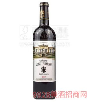 法国巴顿庄园葡萄酒750ml