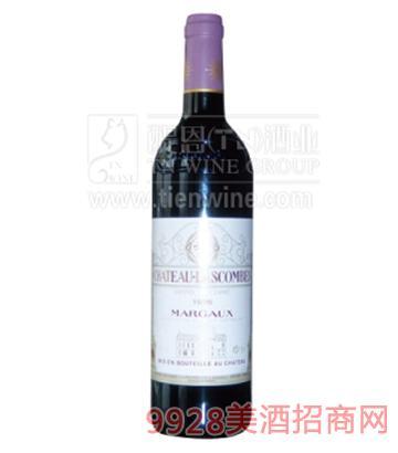 法国力士金城堡葡萄酒750ml