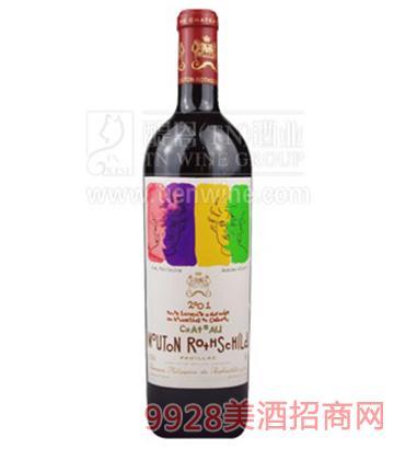 法国木桐酒庄葡萄酒750ml