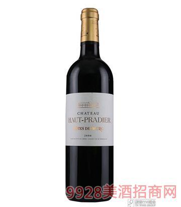 法国高哈迪城堡干红葡萄酒750ml