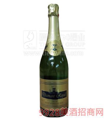 达曼特天然气泡酒750ml