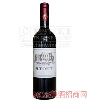 法国爱图干红葡萄酒750ml
