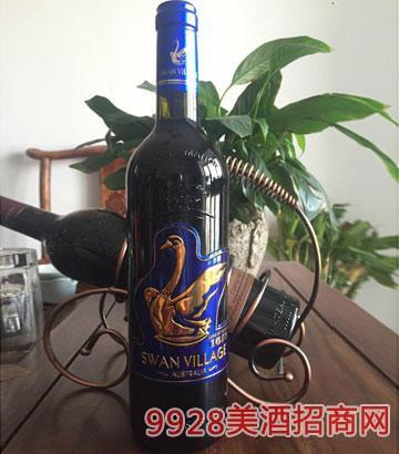 澳洲天�Z干�t葡萄酒(�{�耍�
