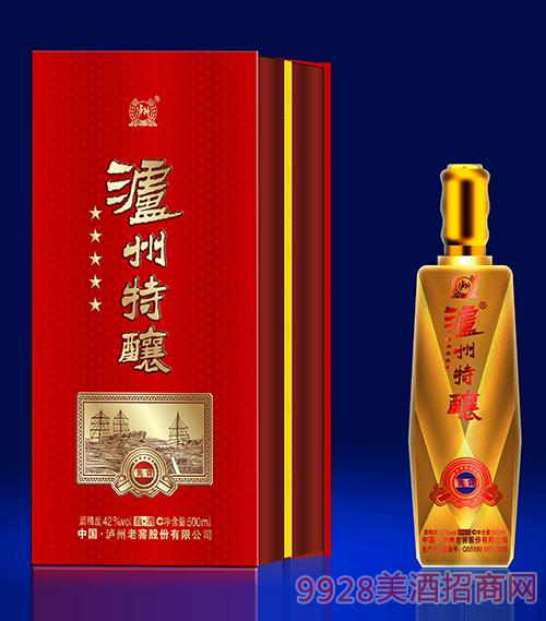 泸州特酿酒共赏-42度500ml(黄)