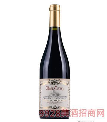 法国蒙岱丽干红葡萄酒750ml