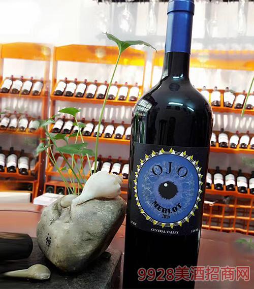 智利天眼赤霞珠干红葡萄酒13度750ml
