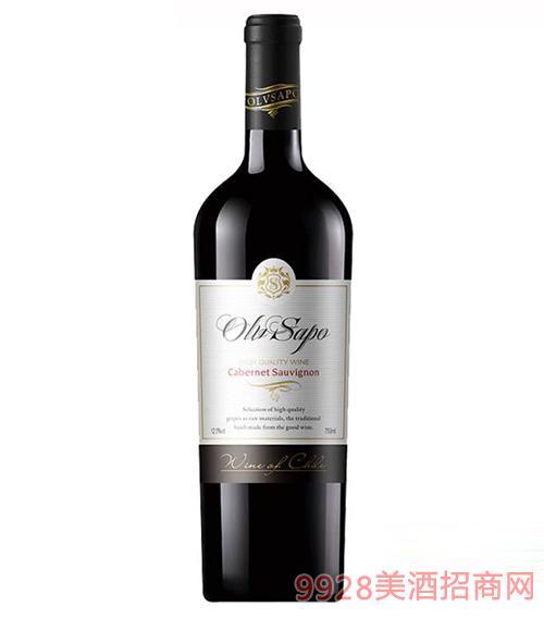 智利干红葡萄酒12.5度750ml