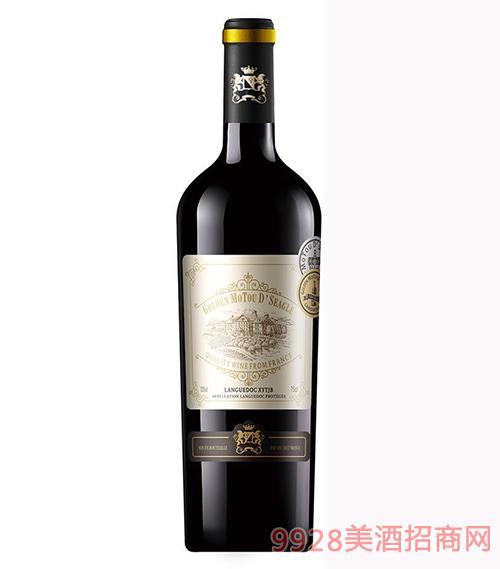 法国金穆桐仕佳凯拉干红葡萄酒13.5度750ml