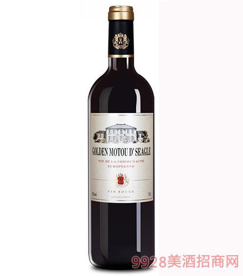 法国金穆桐仕佳诺佳干红葡萄酒12度750ml