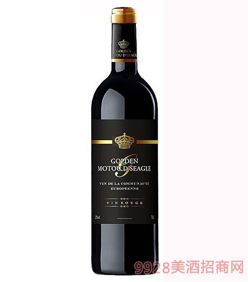 法国金木桐仕佳美隆干红葡萄酒12度750ml