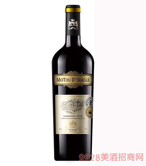 法国木桐仕佳佰特干红葡萄酒13.5度750ml