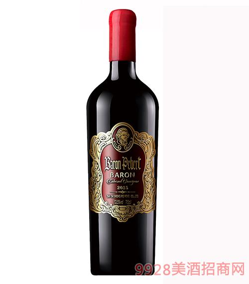 法国彼奥特男爵珍藏干红葡萄酒12.5度750ml