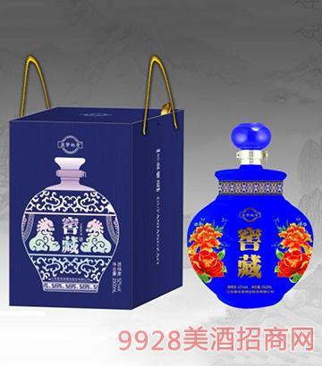 蓝梦地景窖藏酒(蓝)52度2500ml