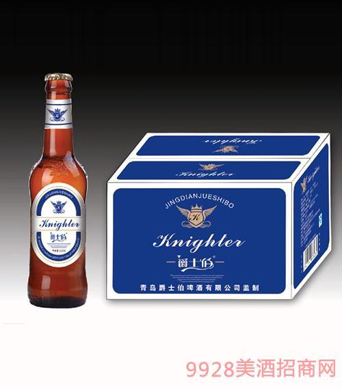 爵士伯啤酒(蓝箱)330ml