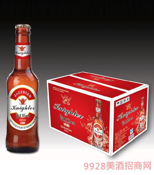 爵士伯啤酒特醇(红箱)330mlx24瓶