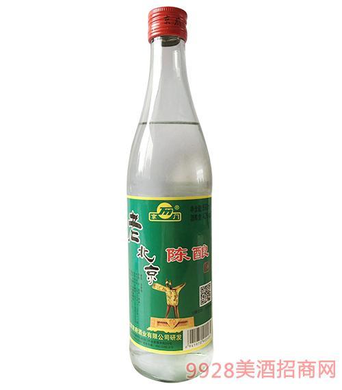 老北京陈酿酒42度500ml