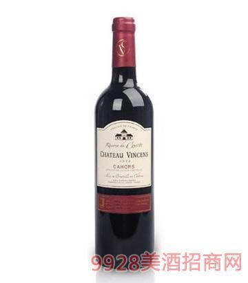 文森斯城堡古斯太干红葡萄酒13度750ml