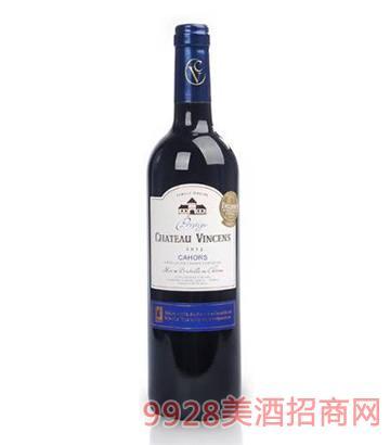 文森斯城堡2012特酿干红葡萄酒