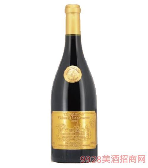 法国兰歌城堡金标干红葡萄酒13.5度750ml