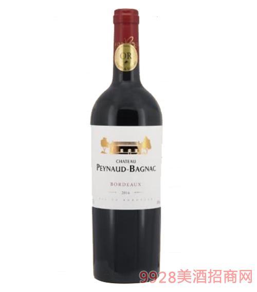 法国碧朗城堡干红葡萄酒14度750ml
