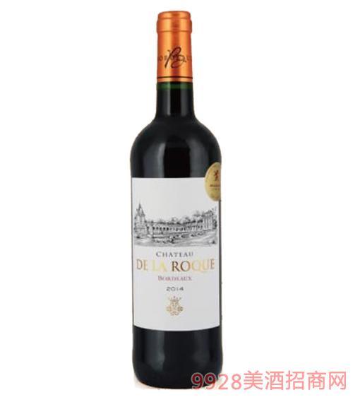 法国莱克城堡干红葡萄酒13度750ml