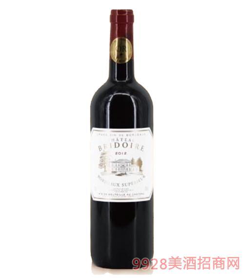 法国宝莉城堡干红葡萄酒14度750ml