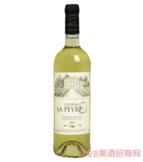法国佩累城堡甜白葡萄酒11.5度750ml