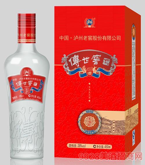 传世窖池酒家福旺38度450ml